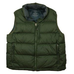 L.L. Bean Goose Down Insulated Puffer Vest Jacket